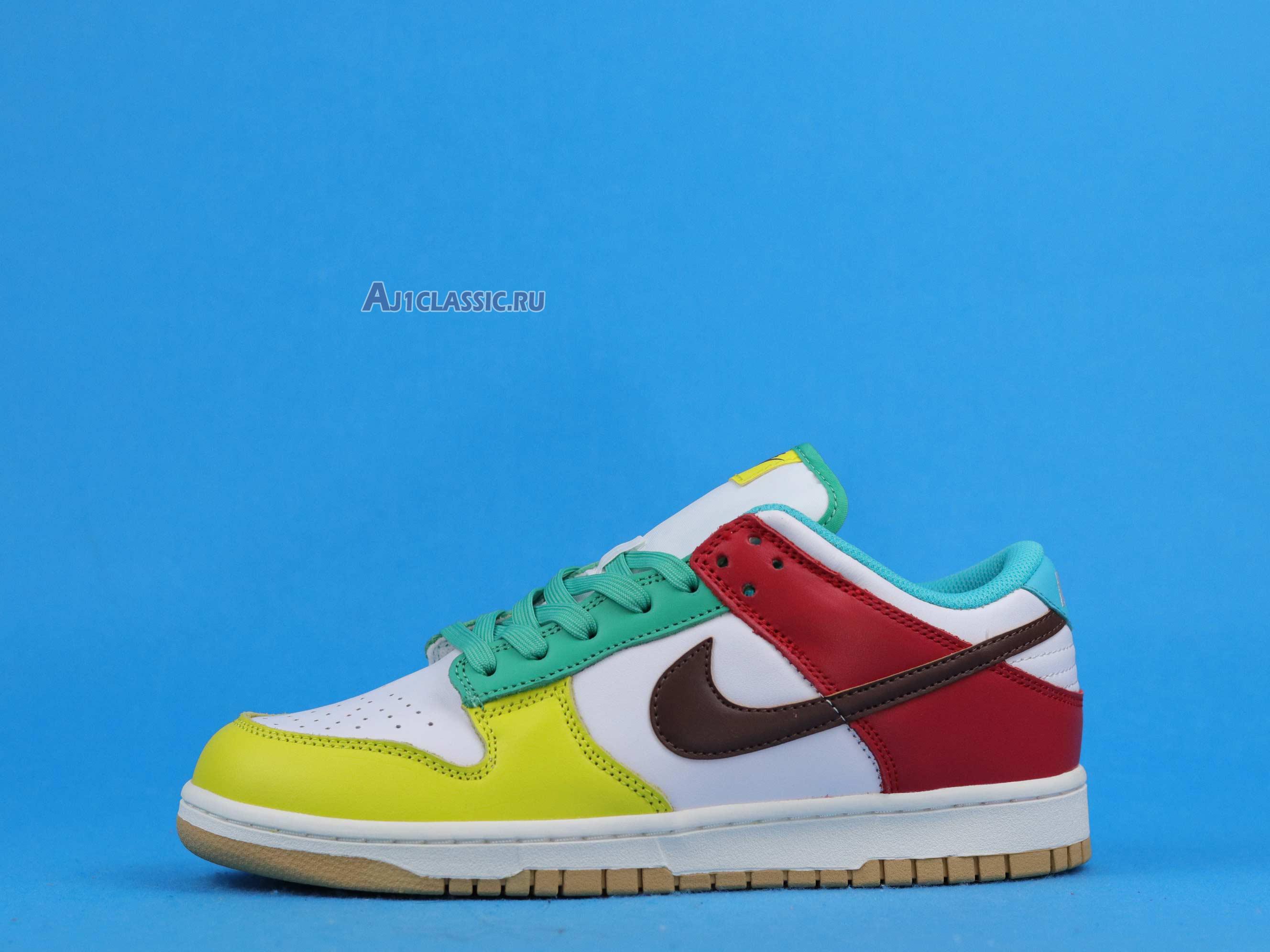 "Nike Dunk Low ""White Free 99"" DH0952-100-2"