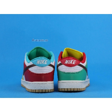 Nike Dunk Low White Free 99 DH0952-100-2 White/Light Chocolate-Roma Green Sneakers