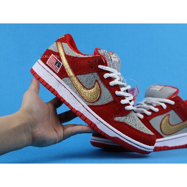 Nike SB Dunk Low Nasty Boys 304292-610 Red/White/Gold Sneakers