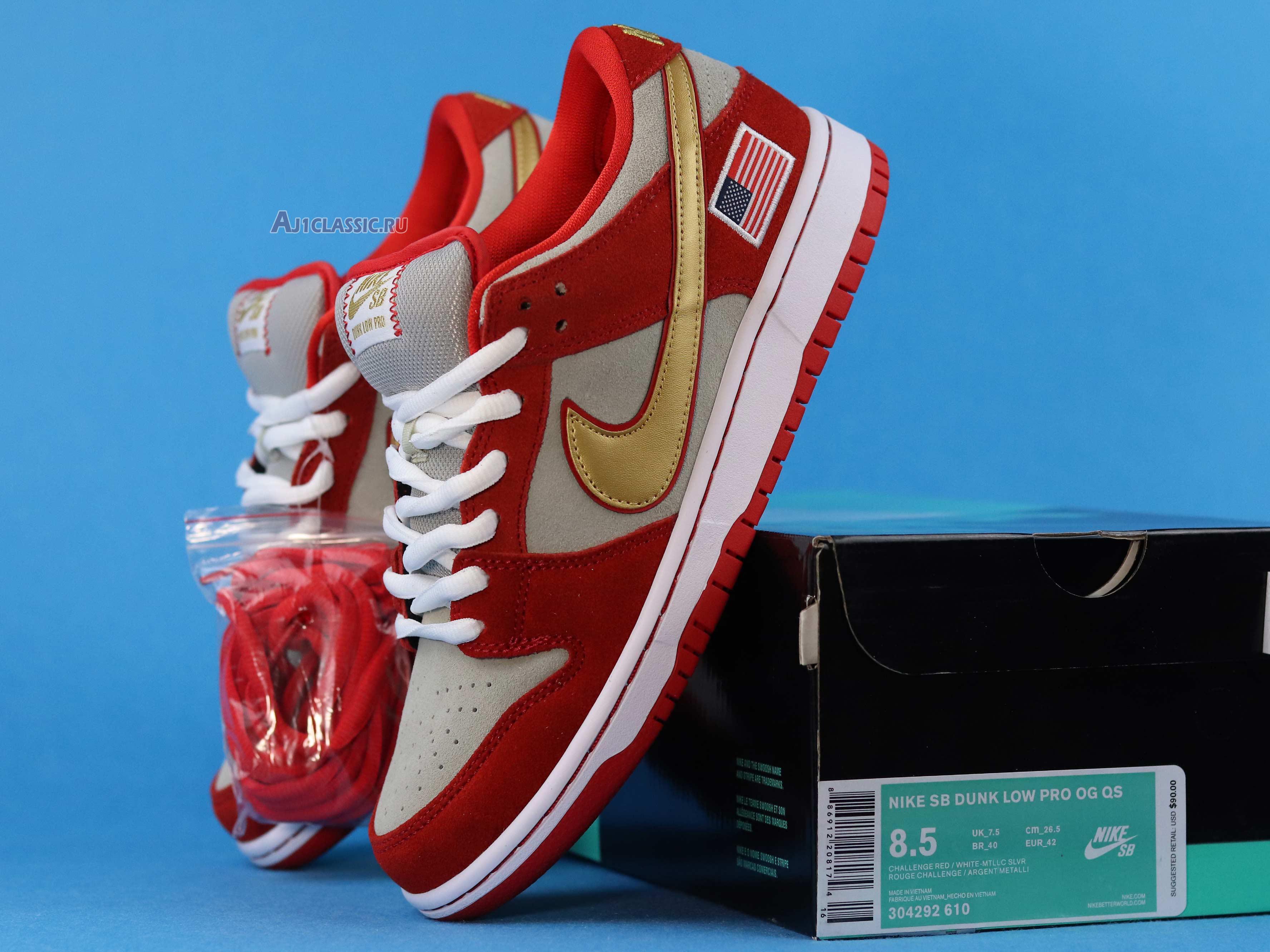"Nike SB Dunk Low ""Nasty Boys"" 304292-610"
