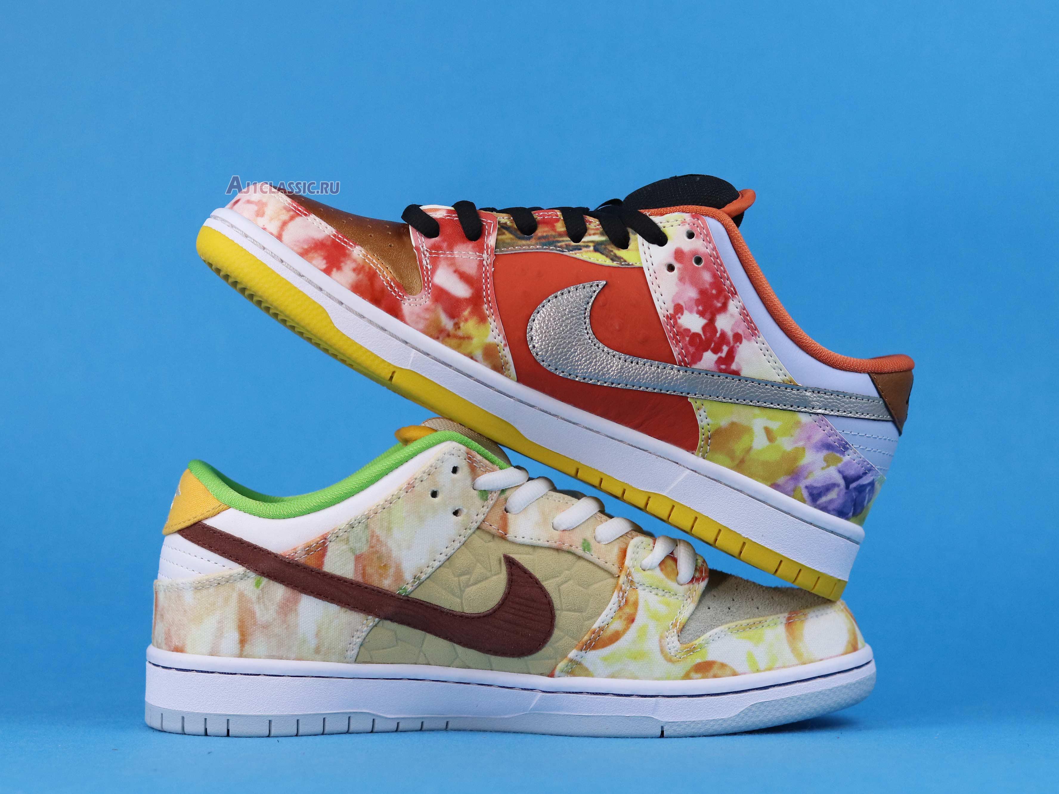 "Jason Deng x Nike Dunk Low Pro SB ""Street Hawker"" CV1628-800"