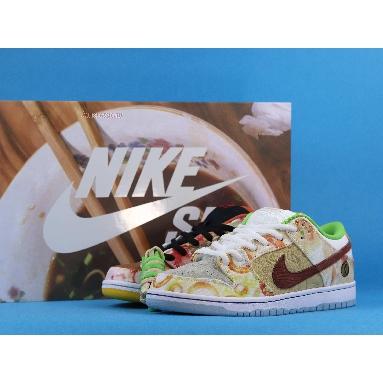 Jason Deng x Nike Dunk Low Pro SB Street Hawker CV1628-800 Copper/Light Silver/Pueblo Brown/Metallic Silver Sneakers