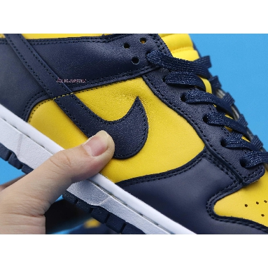 Nike Dunk Low Michigan 2021 DD1391-700 Varsity Maize/Midnight Navy/White Sneakers