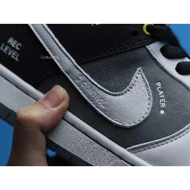 Nike Dunk Low SB Camcorder CV1659-001 Grey/White/Black/Green Sneakers