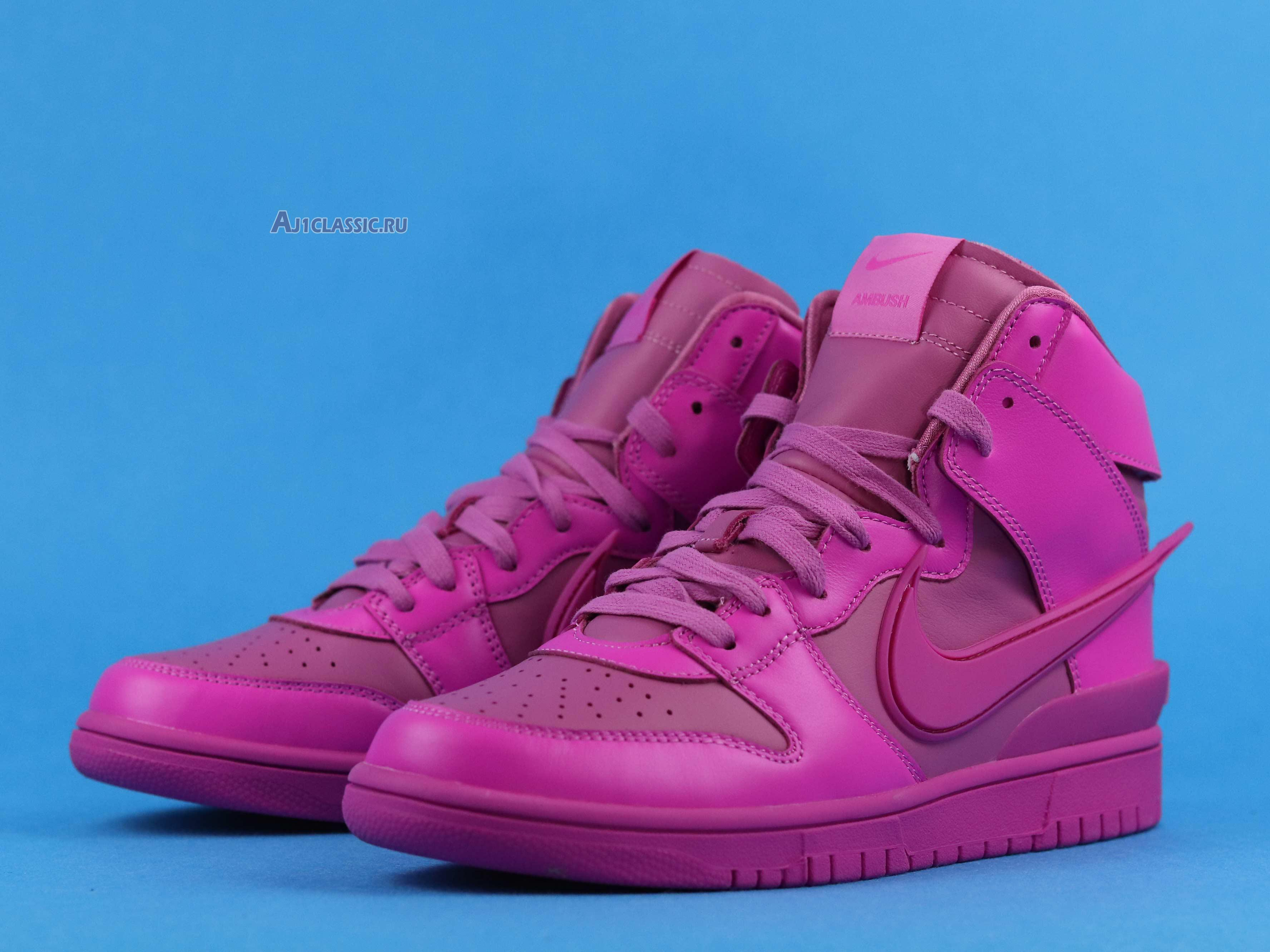 "AMBUSH x Nike Dunk High ""Cosmic Fuchsia"" CU7544-600"