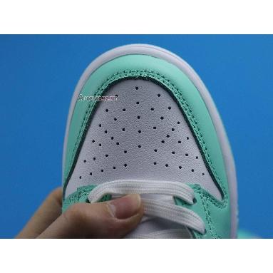 Wmns Nike Dunk Low Green Glow DD1503-105 White/Green Glow/White Sneakers