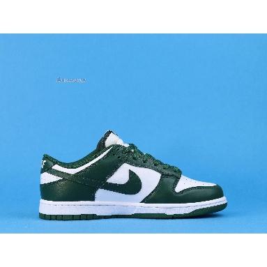 Nike Dunk Low Michigan State DD1391-101 White/Team Green/White/Total Orange Sneakers