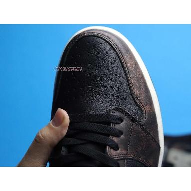 Air Jordan 1 Retro High OG Patina 555088-033 Black/Light Army/Sail/Fresh Mint Sneakers