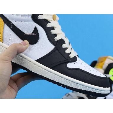 Air Jordan 1 Retro High OG Volt Gold 555088-118 White/Volt/University Gold/Black Sneakers