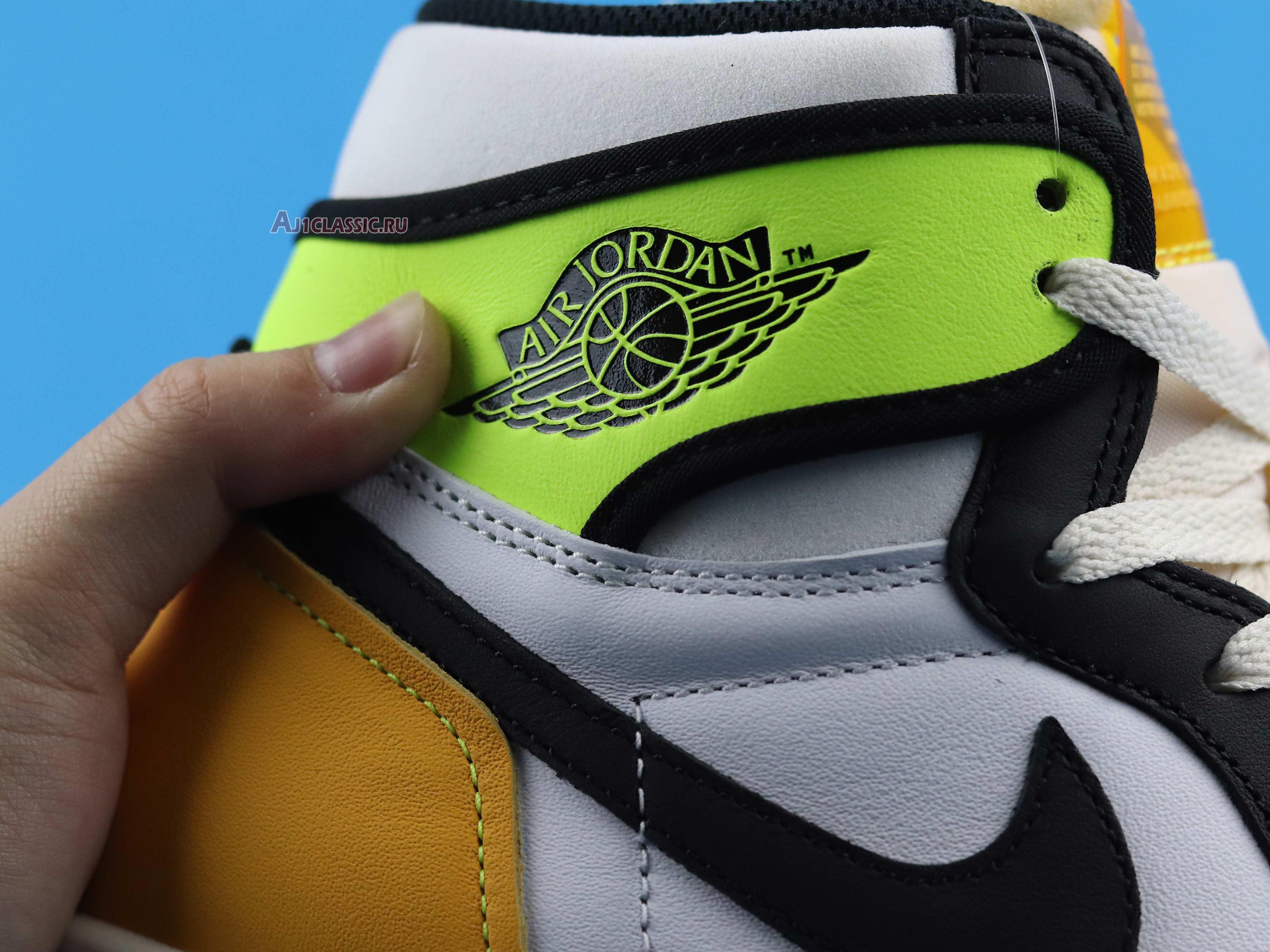 """Air Jordan 1 Retro High OG """"Volt Gold"""" 555088-118"""