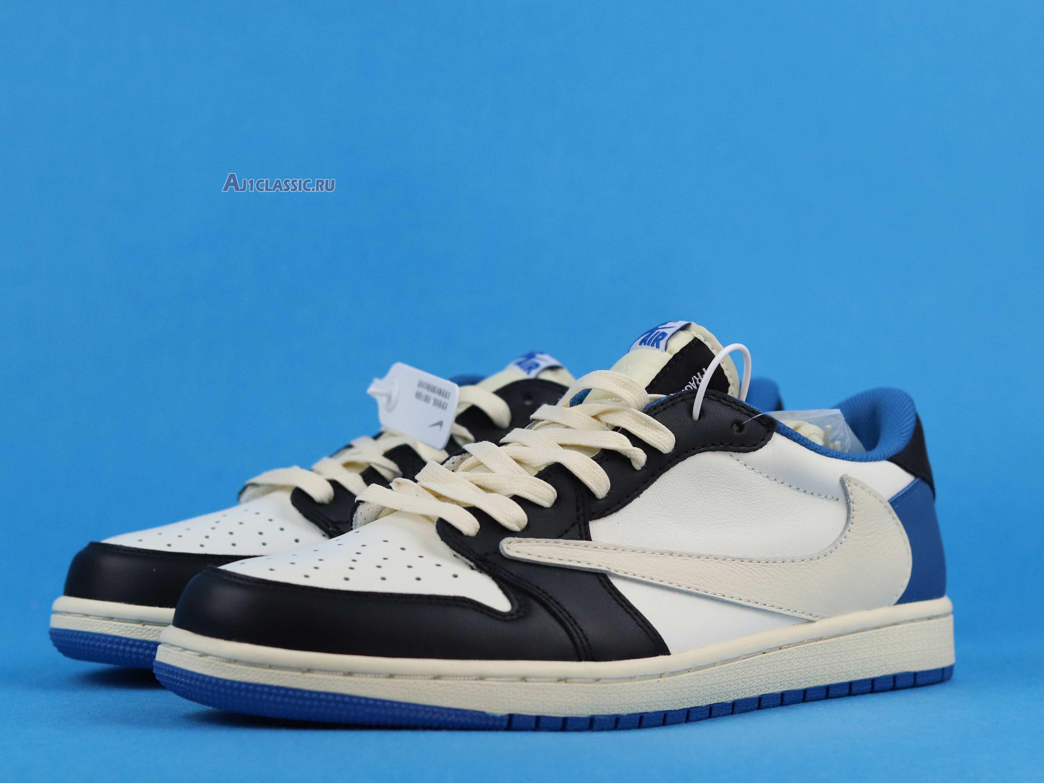 "Travis Scott x fragment x Air Jordan 1 Low OG ""Military Blue"" CQ3227-105"