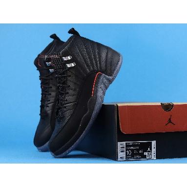 Air Jordan 12 Utility Grind DC1062-006 Black/Black/Bright Crimson/White Sneakers
