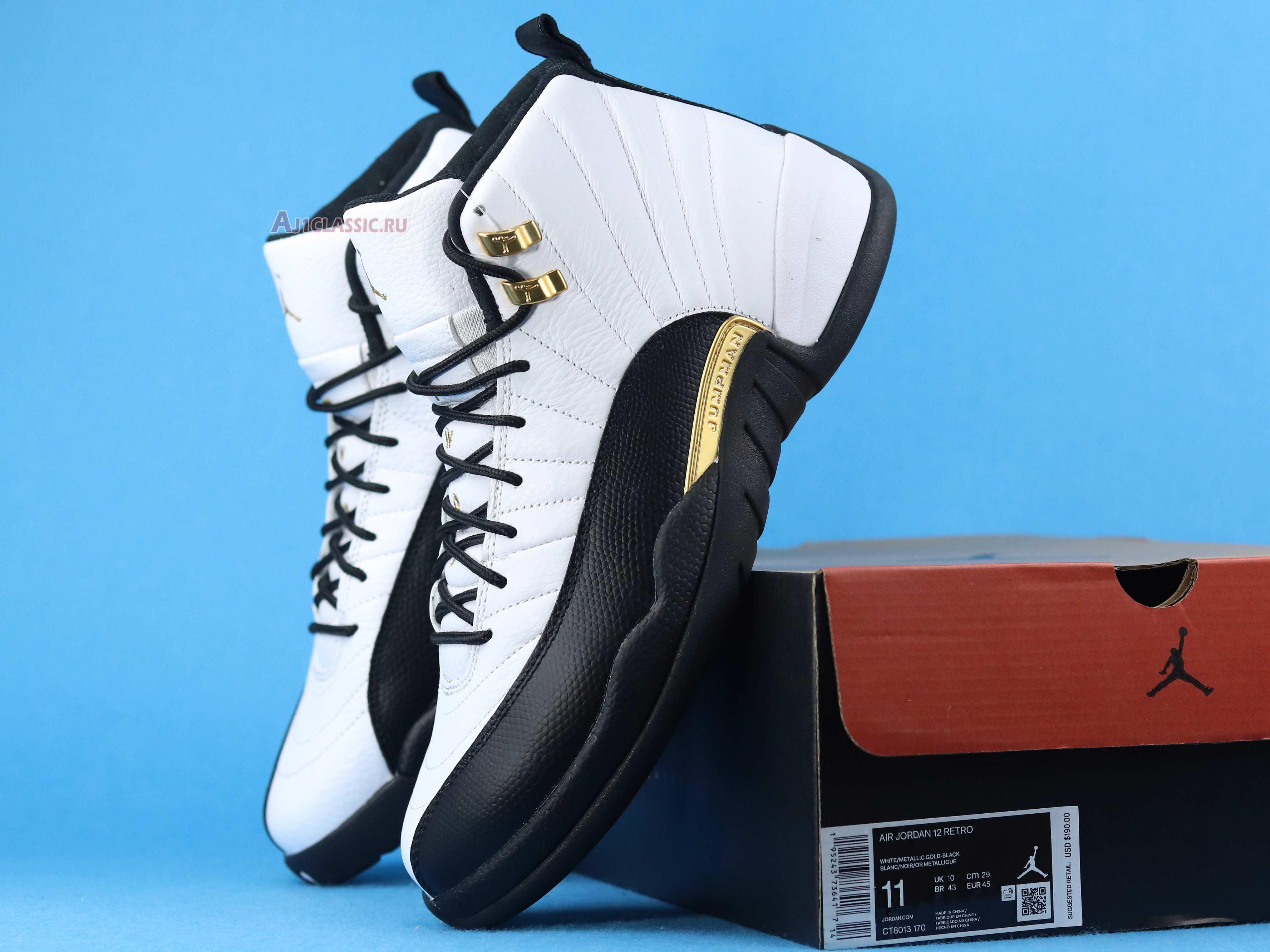 """Air Jordan 12 """"Royalty"""" CT8013-170"""