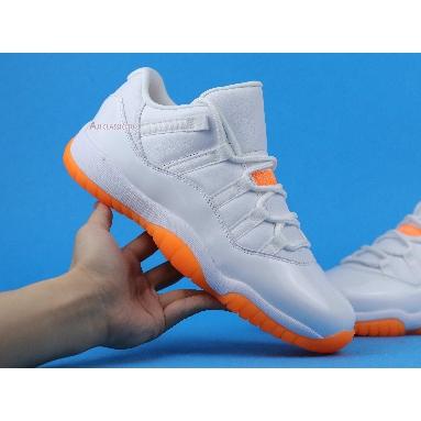 Wmns Air Jordan 11 Retro Low Bright Citrus AH7860-139 White/Bright Citrus Sneakers
