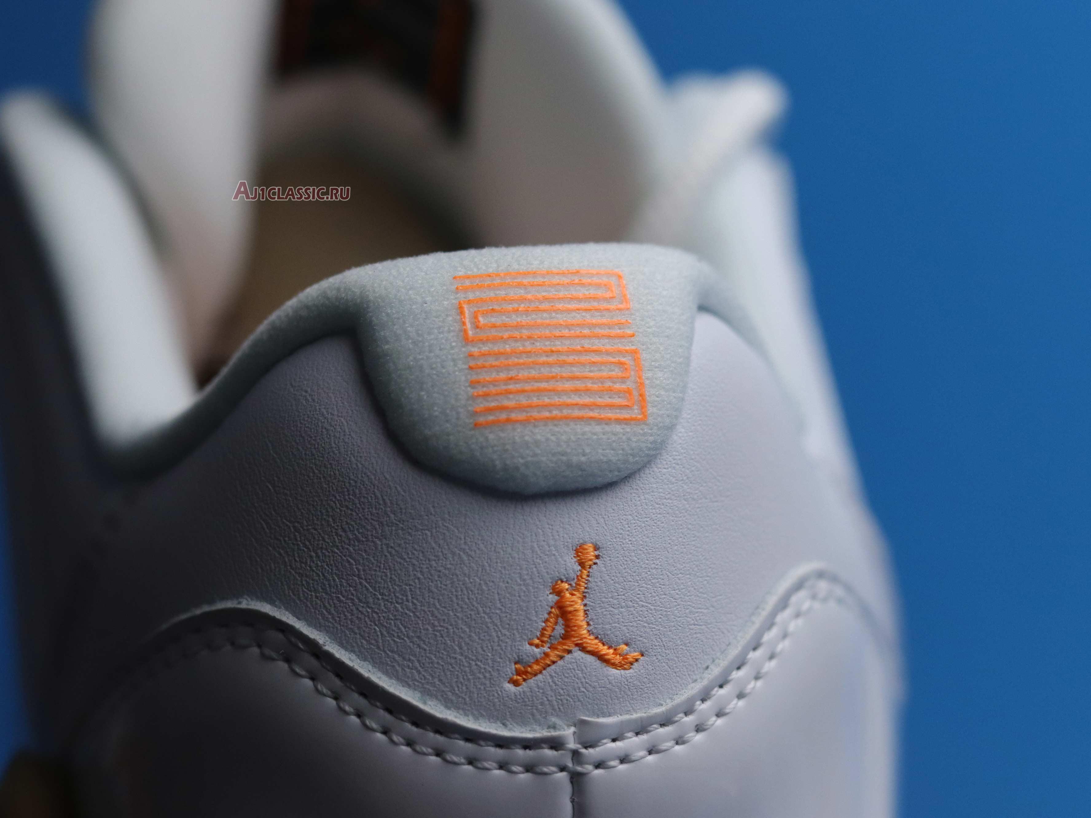 """Wmns Air Jordan 11 Retro Low """"Bright Citrus"""" AH7860-139"""