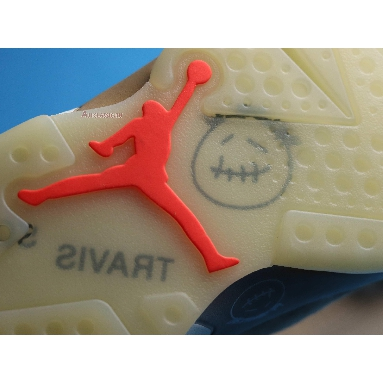 Travis Scott x Air Jordan 6 Retro British Khaki DH0690-200 British Khaki/Sail/Bright Crimson Sneakers