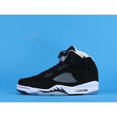 Air Jordan 5 Retro Oreo 2013 136027-035 Black/Cool Grey-White Sneakers