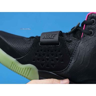 Nike Air Yeezy 2 NRG Solar Red 508214-006 Black/Black-Solar Red Sneakers