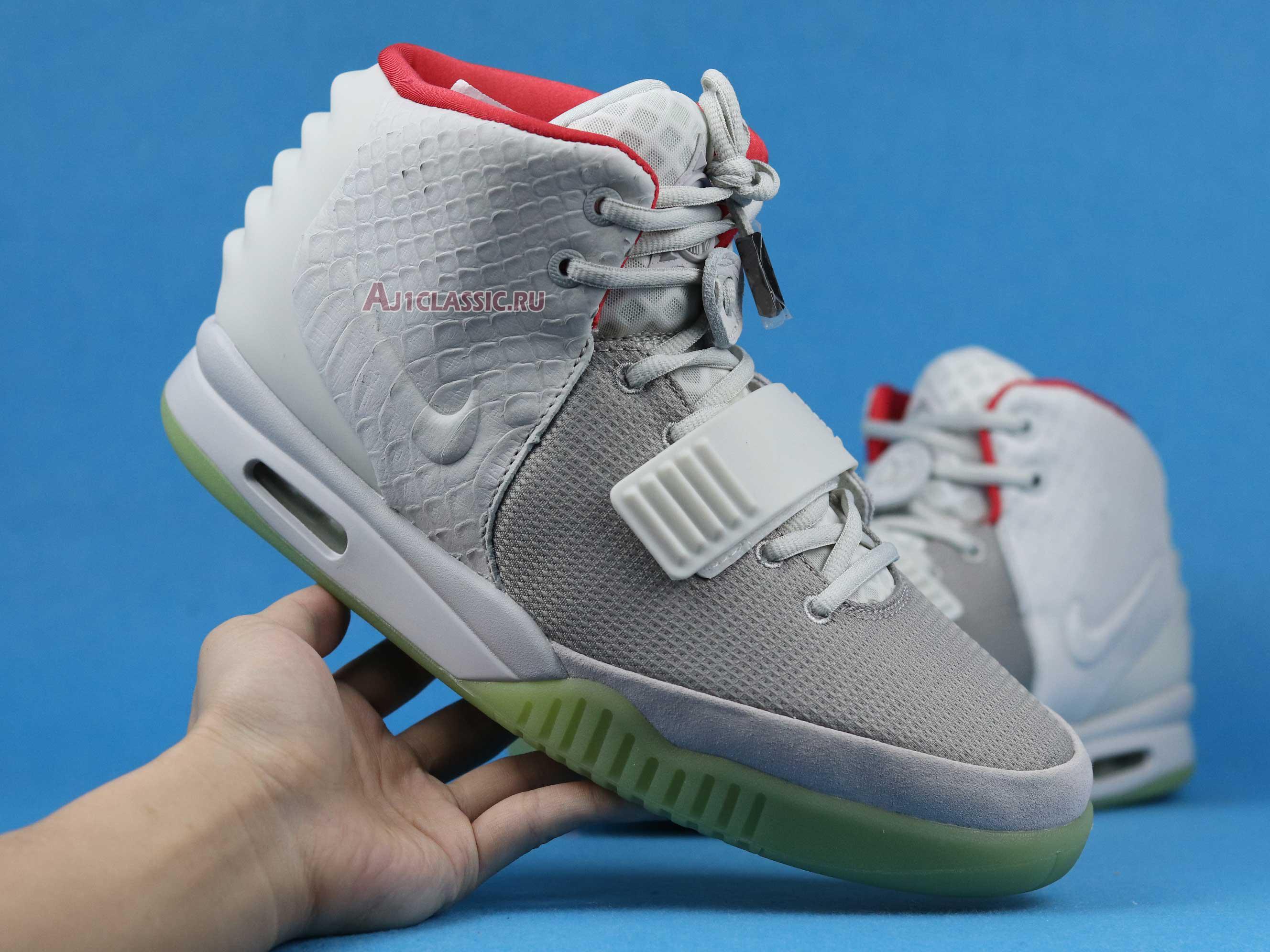 "Nike Air Yeezy 2 NRG ""Pure Platinum"" 508214-010"