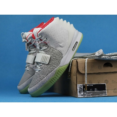 Nike Air Yeezy 2 NRG Pure Platinum 508214-010 Wolf Grey/Pure Platinum Sneakers