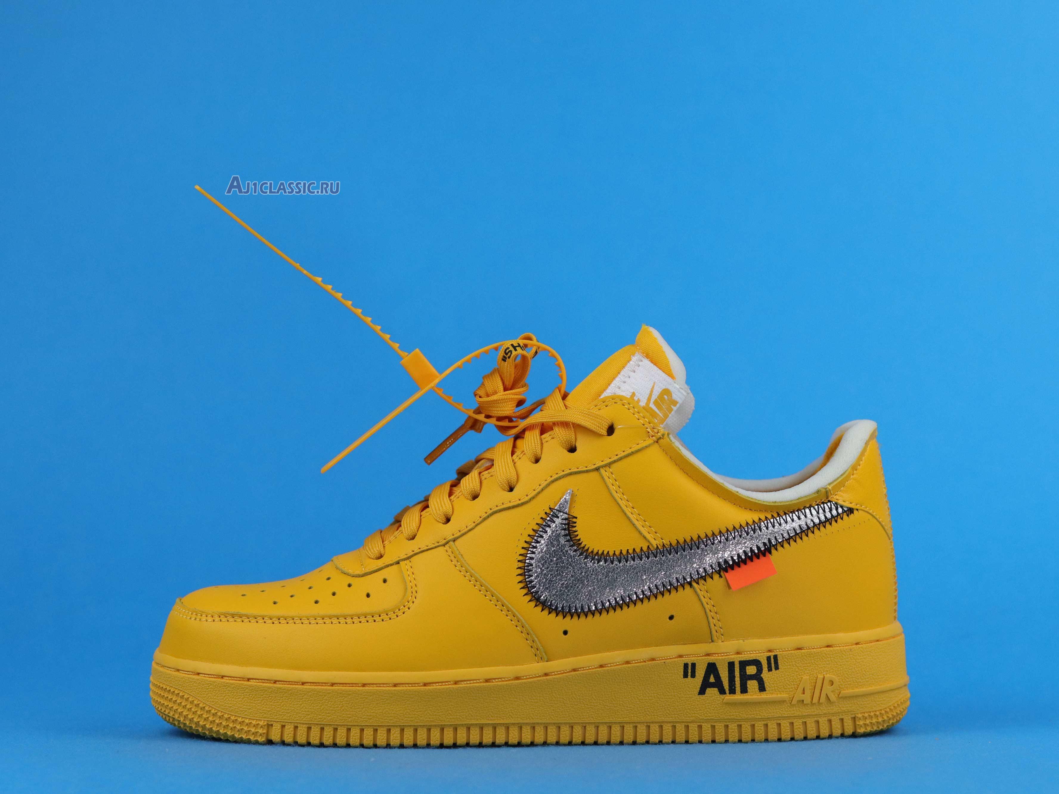 "Off-White x Nike Air Force 1 Low ""Lemonade"" DD1876-700"