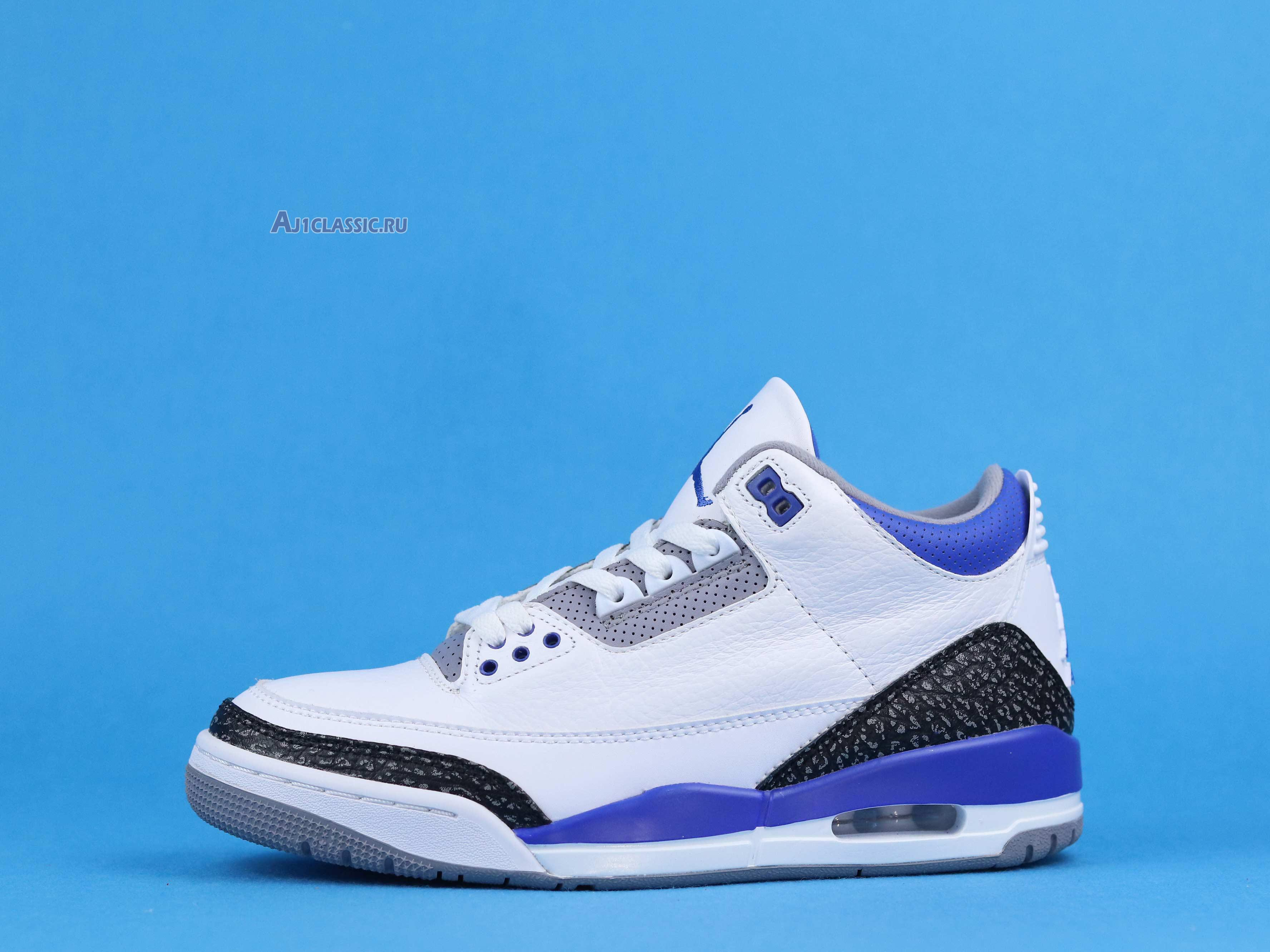 "Air Jordan 3 Retro ""Racer Blue"" CT8532-145"