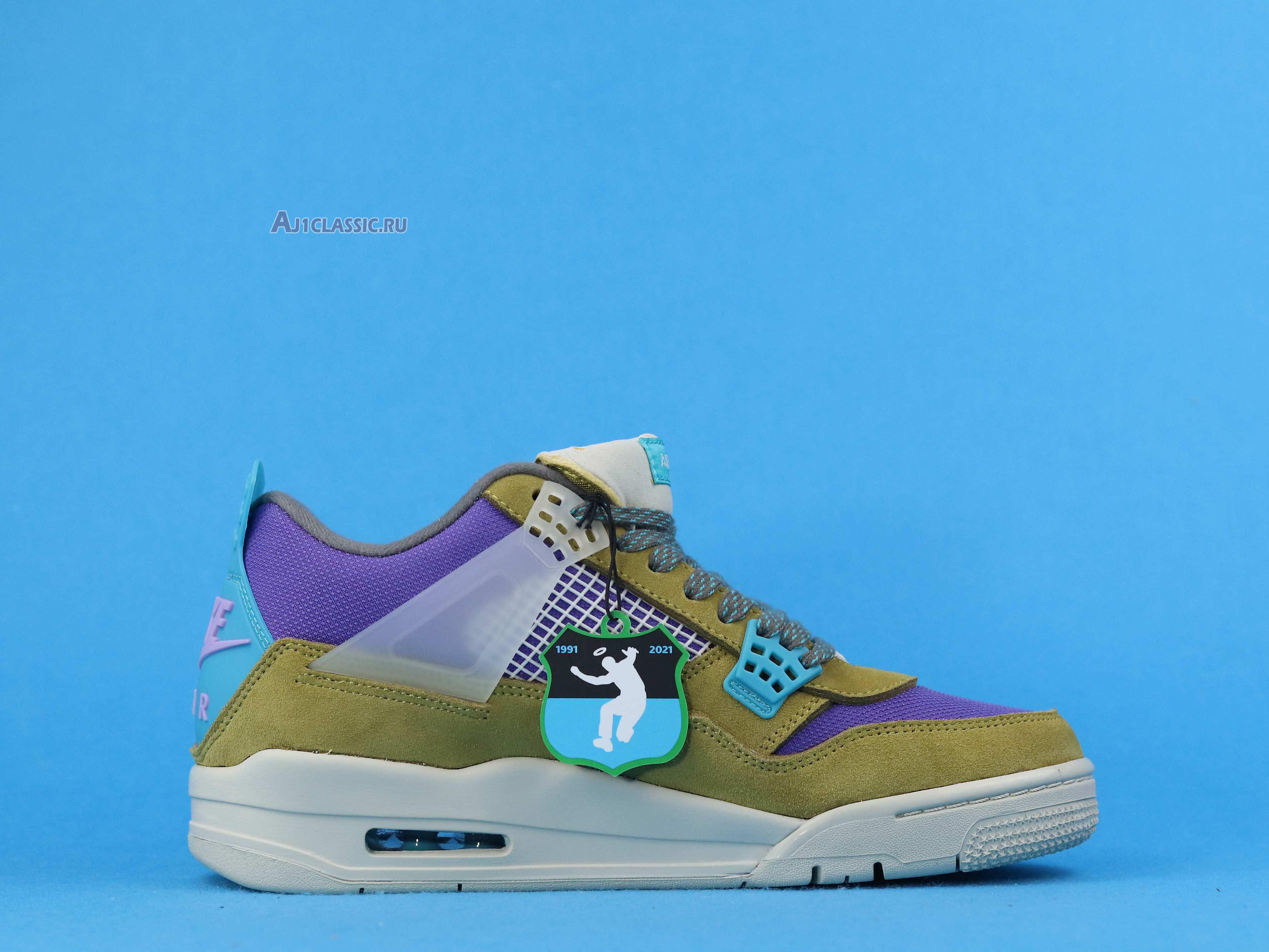 "Union LA x Air Jordan 4 Retro ""Desert Moss"" DJ5718-300"