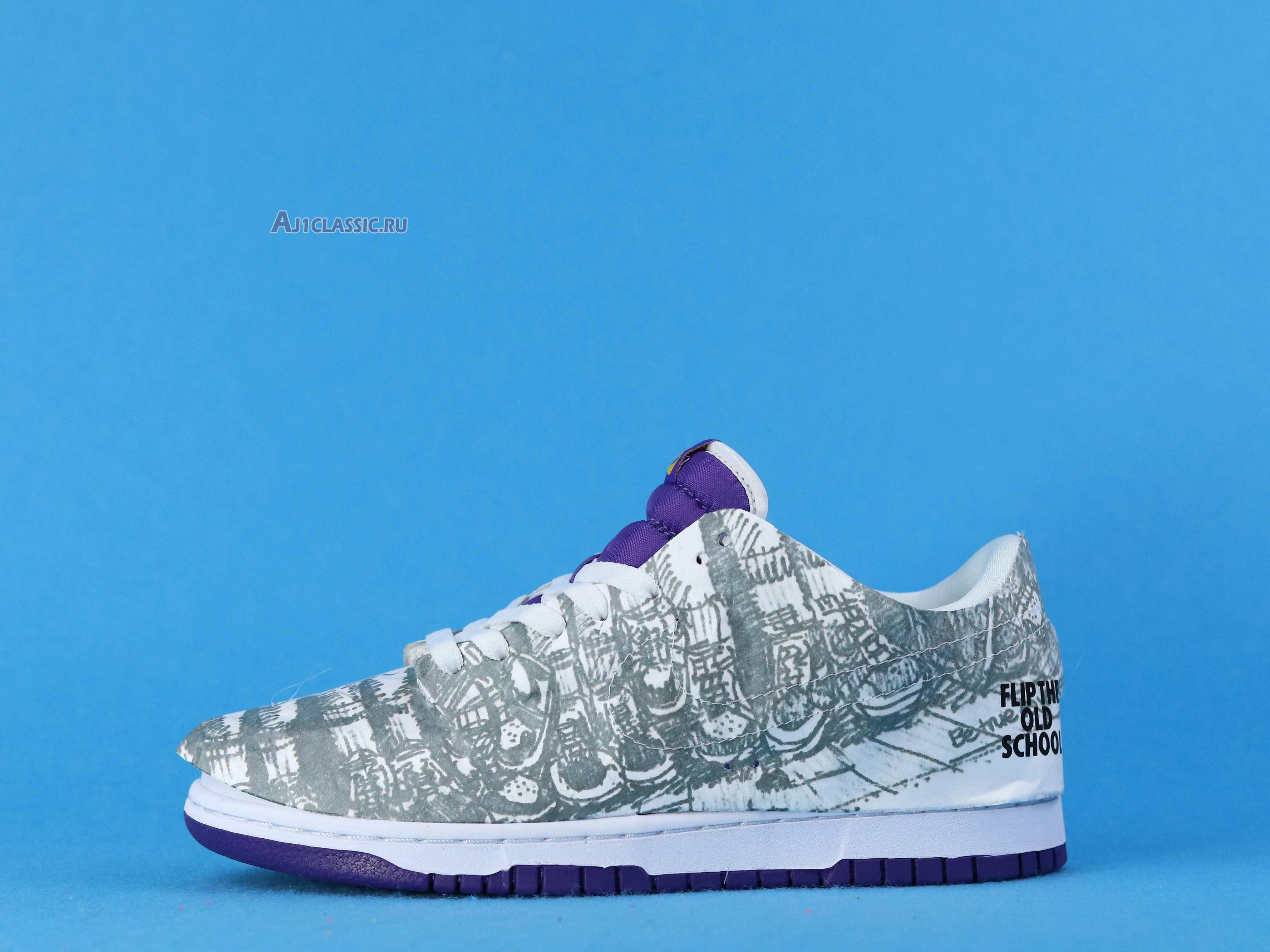 "Nike Dunk Low ""Flip The Old School"" DJ4636-100"