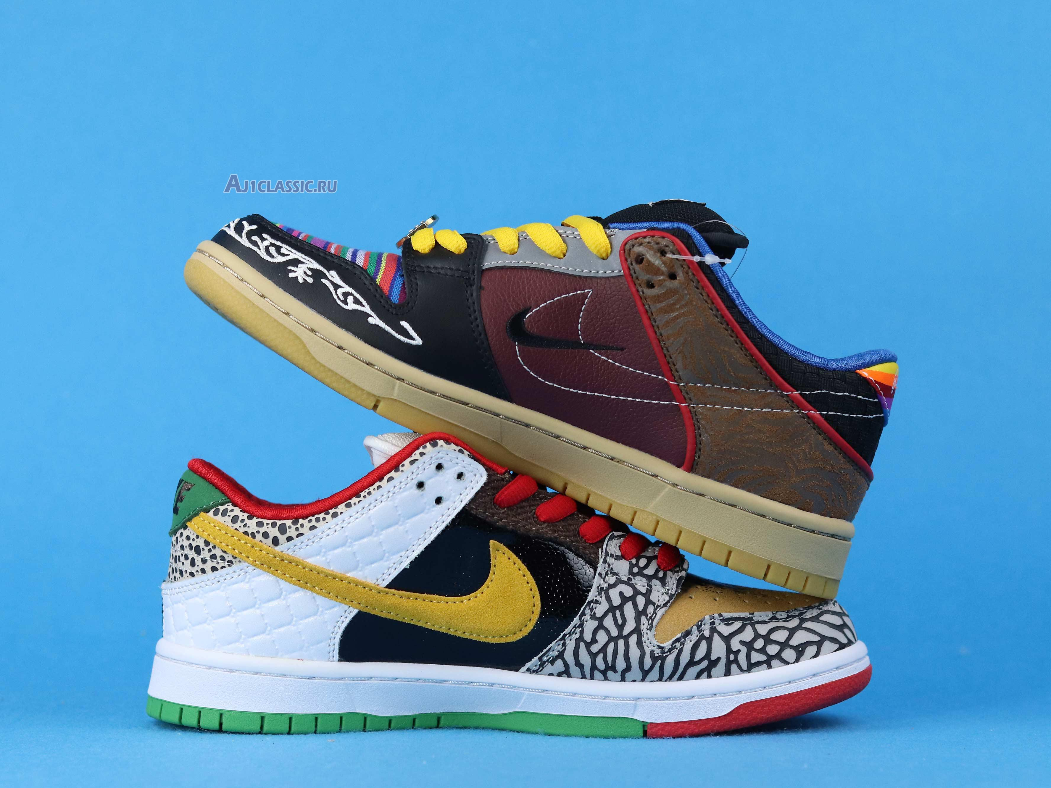 """Nike Dunk Low SB """"What The Paul"""" CZ2239-600"""