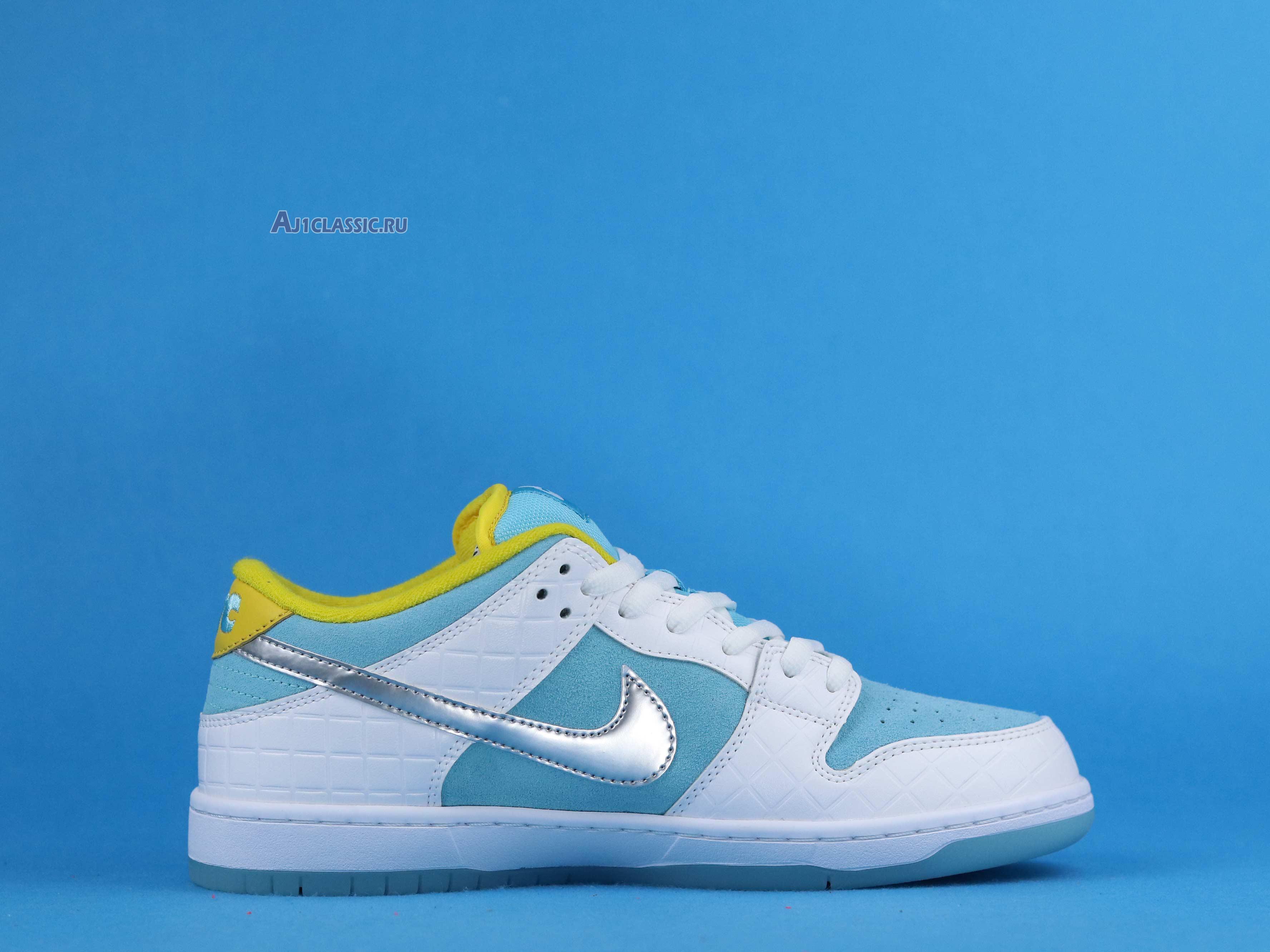 "FTC x Nike Dunk Low SB ""Lagoon Pulse"" DH7687-400"
