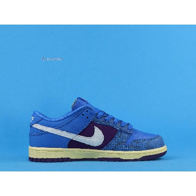 Undefeated x Nike Dunk Low SP Dunk vs AF1 DH6508-400 Royal/Purple-White Sneakers