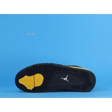 Air Jordan 4 Retro Thunder 2012 308497-008 Black/White-Tour Yellow Sneakers