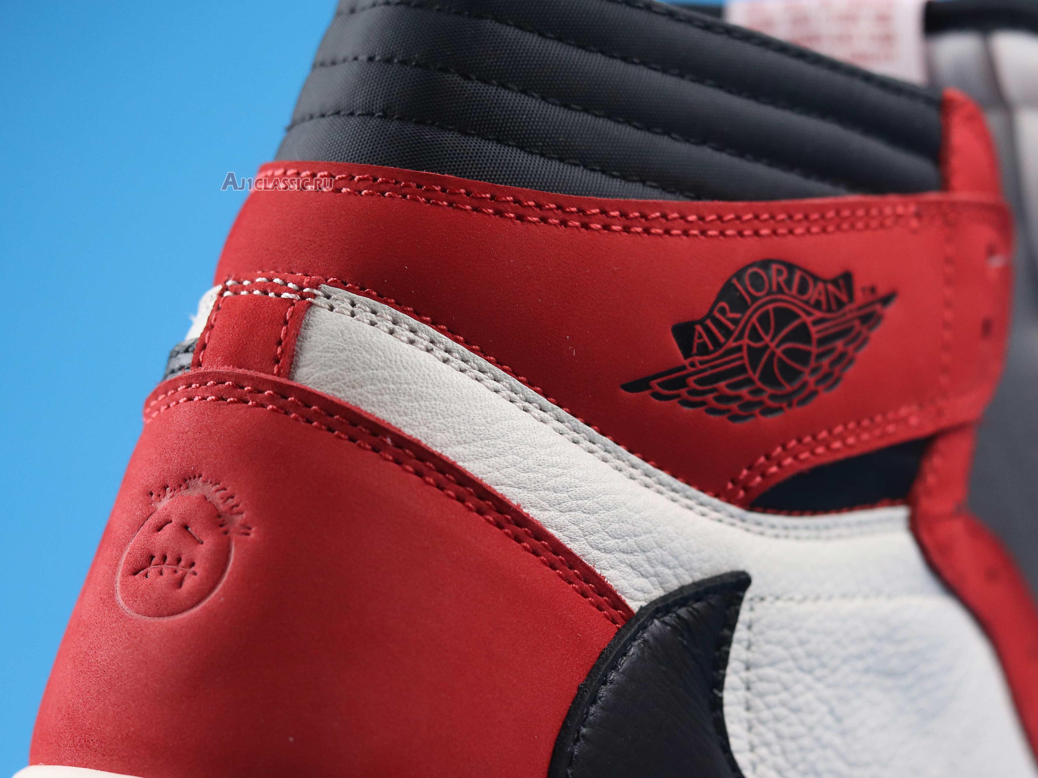 """Travis Scott x Air Jordan 1 Retro High OG """"Chicago"""" CD4487-100-4"""