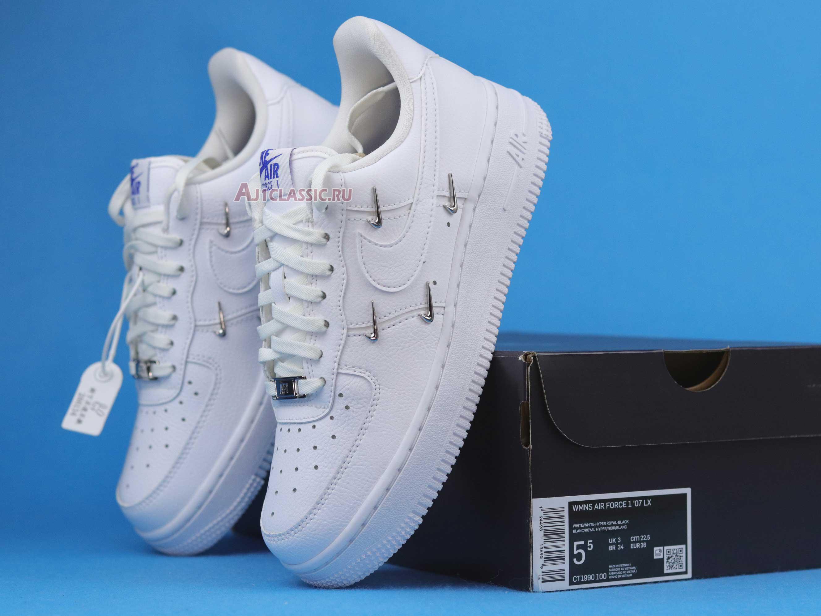 Nike Wmns Air Force 1 07 LX Sisterhood - White Metallic Silver ...